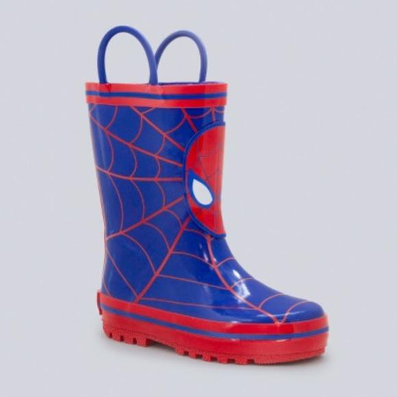 Black Panther Children/'s Rainboots